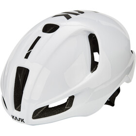 Kask Utopia Fietshelm, white/black